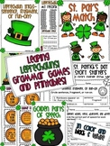 Leprechauns Grammar Games and Printables for St. Patrick's Day