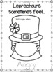 Leprechauns Have Feelings Too!  (a feelings coloring book for kids)