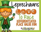 Leprechauns Love to Race-Differentiated St. Patrick's Plac