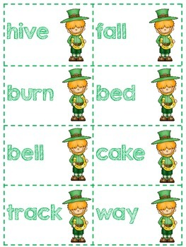 Leprechauns Lucky with Compound Words