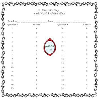 Leprechauns and Math Fun