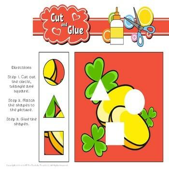 Leprechaun Math Word Problems St. Patrick's Day