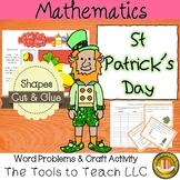 Leprechaun Math Word Problems St. Patrick's Day No Prep