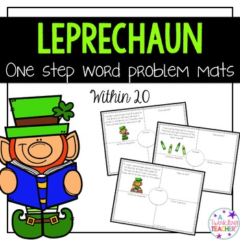 Leprechauns One Step Word Problems within 20!