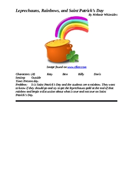 Leprechauns, Rainbows, and Saint Patrick's Day Reader's Theater