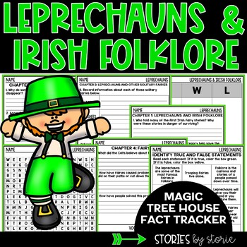 Leprechauns and Irish Folklore (Magic Tree House Fact Tracker)