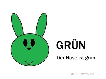Lerne Farben mit dem Osterhasen - Learn colours with the Easter bunny