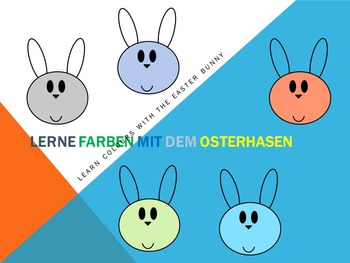 Lerne Farben mit dem Osterhasen - Learn colours with the E