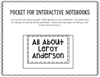Leroy Anderson - Famous Composer Research Project, Music History