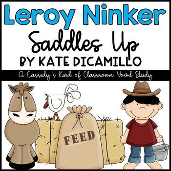 Leroy Ninker Saddles Up Novel Study