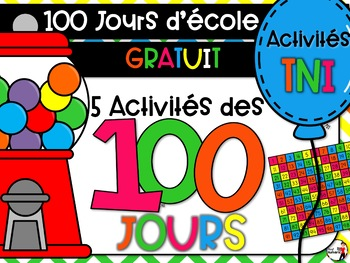 Les 100 jours d'école (GRATUIT)
