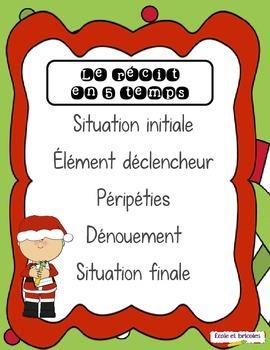 Récit 5 temps- Mission Père Noël