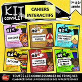 Les 6 cahiers interactifs de français