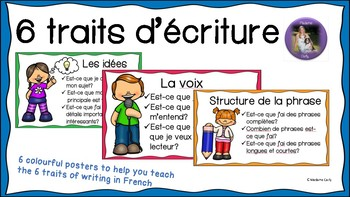 Les 6 traits d'écriture (Primary)