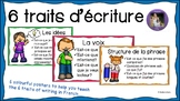 Les 6 traits d'écriture (Primary)