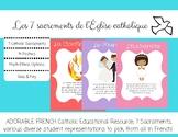 Les 7 sacrements de l'Église catholique FLS French Immersi