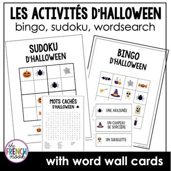 Les Activités d'Halloween