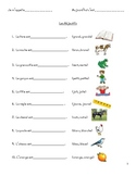 Les Adjectifs fill-in-the-blank