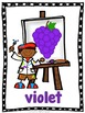 Les couleurs -  Color (Colour) Posters in French