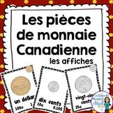 Les affiches de pièces de monnaie Canadienne - Canadian Mo