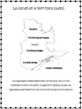 Les Algonquiens Vers 1500