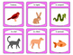Les Animaux Familiers Spoons Card Game - Pets Vocabulary in French