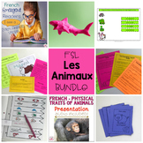 Les Animaux – French as a Second Language (FSL) Unit