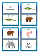 Les Animaux J'ai/Qui a ? Card Game- French Animals Vocabulary