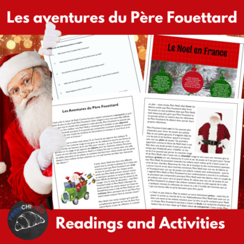 Les Aventures du Père Fouettard - a story for int/adv Fren