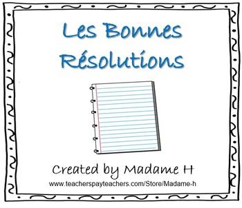 Les Bonnes Résolutions
