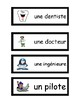 Les Carrières - French Vocabulary Activities
