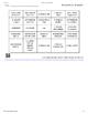 Les Cartes Bingo - Pendant le congé de Noël