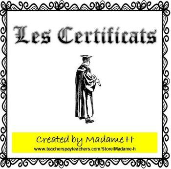Les Certificats
