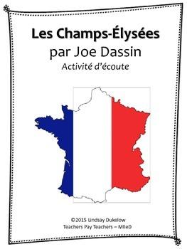 Les Champs-Élysées (activite d'ecoute)