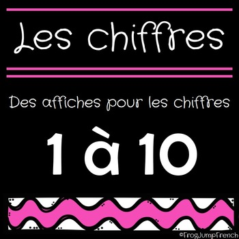 Les Affiches de Chiffres // French Number Anchor Charts