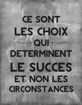 Les Choix poster - digital file
