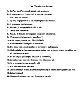 Les Choristes - Complete Lesson Plan in French based on film