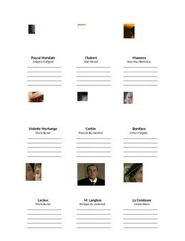 Les Choristes - character reference sheet