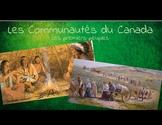 Les Communautés du Canada Powerpoint *EDITABLE*
