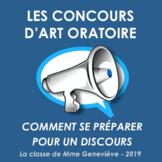 Les Concours d'art oratoire - Comment se préparer pour un discours