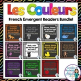Les Couleurs:  French Emergent Reader Bundle Featuring 11 Colours!
