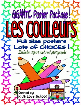 Les Couleurs-Full Size Posters.Lots of Variations-FSL and