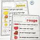French Reading Fluency   Fluidité en lecture   French Colours   Les couleurs