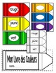 Les Couleurs-Word Wall Crayon Cards and Student Booklet-FS