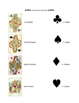 Les Couleurs de Cartes - Playing Card Suits