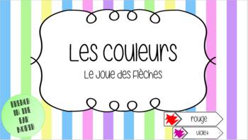 French - Les Couleurs en Français - Le Joue de Fleches (Arrow Match Game)