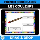 Les Couleurs en Français Boom Card Distance Learning