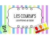 French - Les Couleurs en Français - Les Affiches de Classe