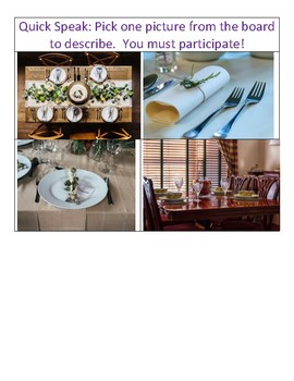 Les Couverts - French Place Settings