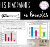 Les Diagrammes à Bandes I French math Boom Cards
